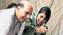 Children being misled, says CM Mehbooba Mufti. Union Home Minister Rajnath Singh said an alternative to pellet guns would be found within a few days.