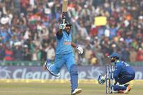 Rohit records third double ton in ODIs