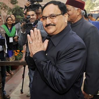 BJP may pick Nadda over Dhumal as Himachal CM candidate