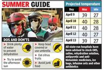 Heat stroke kills 1, Sunday to be a scorcher