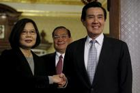 China suspends communications with Taiwan