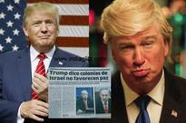 Newspaper mistakes, Hollywood actor for Donald Trump