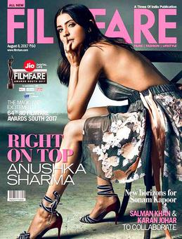 Anushka goes bold and beautiful on cover