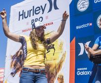 Finals Day At Lowers - Jordy Smith wins Hurley Pro, Tyler Wright wins Swatch Women's Pro