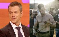 How did Matt Damon get back in shape for the latest Bourne movie?