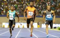 Bolt shakes off bad start to clock 9.88sec in home win