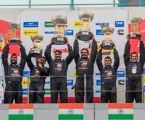 Jagat Singh, Nagarjuna A win the first ever Indian Truck Race
