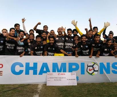 Minerva Punjab crowned I-League champions