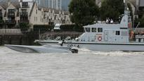 Royal Navy tests drone boat on the River Thames The high-tech MAST unmanned craft is designed for surveillance and reconnaissance missions such as shadowing suspect ships.