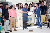 Shah Rukh Khan gives mahurat clap for Vikram Phadnis's Marathi movie…