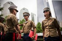 The most touching moment of Fleet Week comes at Ground Zero