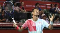 Tomas Berdych beats Joao Sousa to reach Paris Masters Rd 3