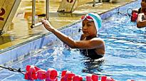 70th national aquatic championships: Saloni Dalal sets pool ablaze