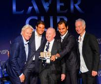 Federer, Nadal to play doubles together in Laver Cup