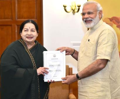 GST, fishermen on Jaya's 29-page memorandum to Modi