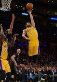 Lakers' Russell makes case for more playing time