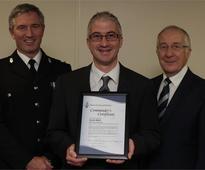 Plymouth police chief praises schoolgirls