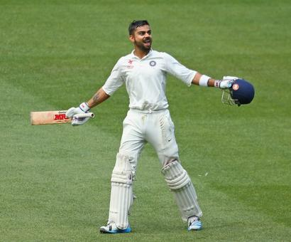 'Kohli never hesitates to play his shots against any bowler and in any situation'