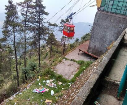 Mussoorie Diary: 42C, tidy tourists and stingy loo users