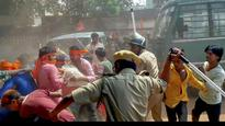 WB Governor visits violence-hit Asansol, takes stock of law and order situation
