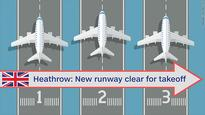 Third runway approved for London's Heathrow