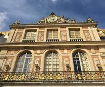 Art-world star brings a contemporary perspective to the magnificent Versailles palace