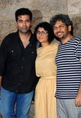 PIX: Karan Johar, Kiran Rao at Ship Of Theseus screening
