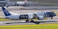 ANA unveils new Star Wars-themed jet