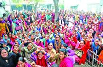 Anganwadi workers seek retirement benefits