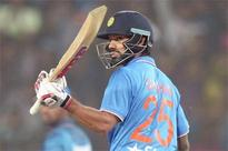 2nd T20I: Dhawan, Rohit power India to 196/6 against Sri Lanka