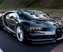 Bugatti Chiron Can Go From 0-402-0 Kmph In Less Than 60 Seconds