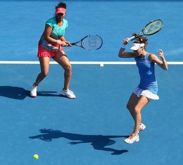 Sania-Hingis eye third straight Grand Slam