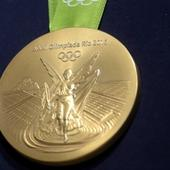 Rio 2016: Official Olympic medals modelled on Brazilian women