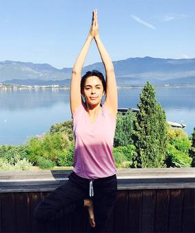 PIX: Learn yoga from these Bollywood gals