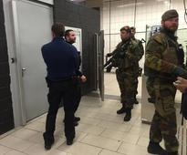 Metro station hit during Brussels attacks reopens