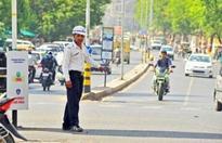 Traffic diversion for Patidar meeting today