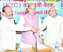 Rajnath seal on map transfer