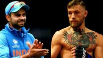 Virat Kohli salutes Conor McGregor after loss against Floyd Mayweather