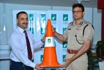 Indus Towers Collaborates With Gurgaon Traffic Police
