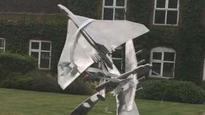 Sculpture marks RAF Waddington's centenary