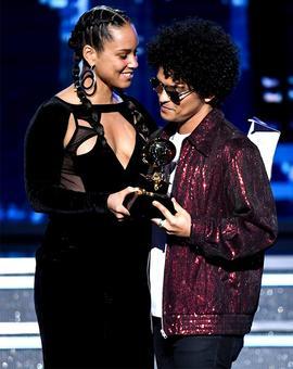 PIX: Bruno Mars wins big at the Grammys