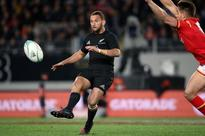 Rugby union - All Black Cruden signs for Montpellier