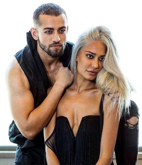 Who is that hottie with Lisa Haydon?