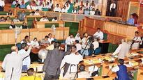 Uproar mars GST session in J&K House