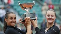 Rare French win at Roland Garros as Garcia-Mladenovic clinch double title