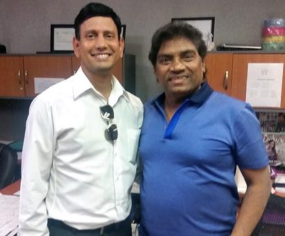 Spotted: Johnny Lever in New Jersey