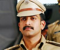 With a string of police roles: Prithviraj