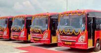 Tata Motors delivers 10 AC buses in Bilaspur