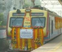 India's first AC local train flagged off in Mumbai today, commuters elated