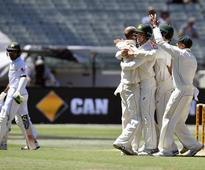 Live: Pakistan in trouble after Australia declare on 624/8